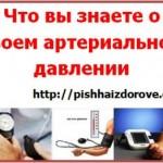 Что вы знаете о своем артериальном давлении