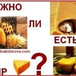Можно ли есть сыр?