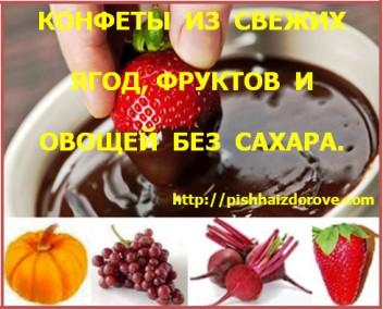 Конфеты из ягод,
