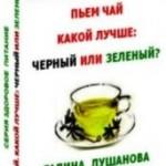 Пьем чай. Какой лучше: черный или зеленый?