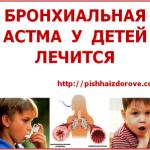 Бронхиальная астма у детей лечится