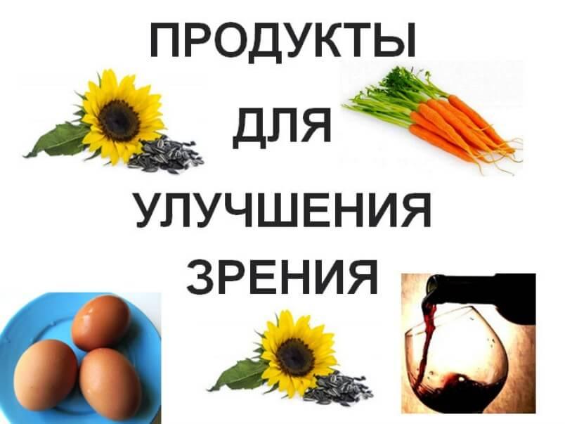 Продукты-для-улучшения-зрения