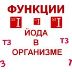Functions-iodine