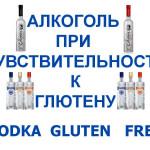 Vodka-gluten-free